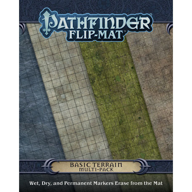 Pathfinder Flip-Mat Basic Terrain Multi-Pack
