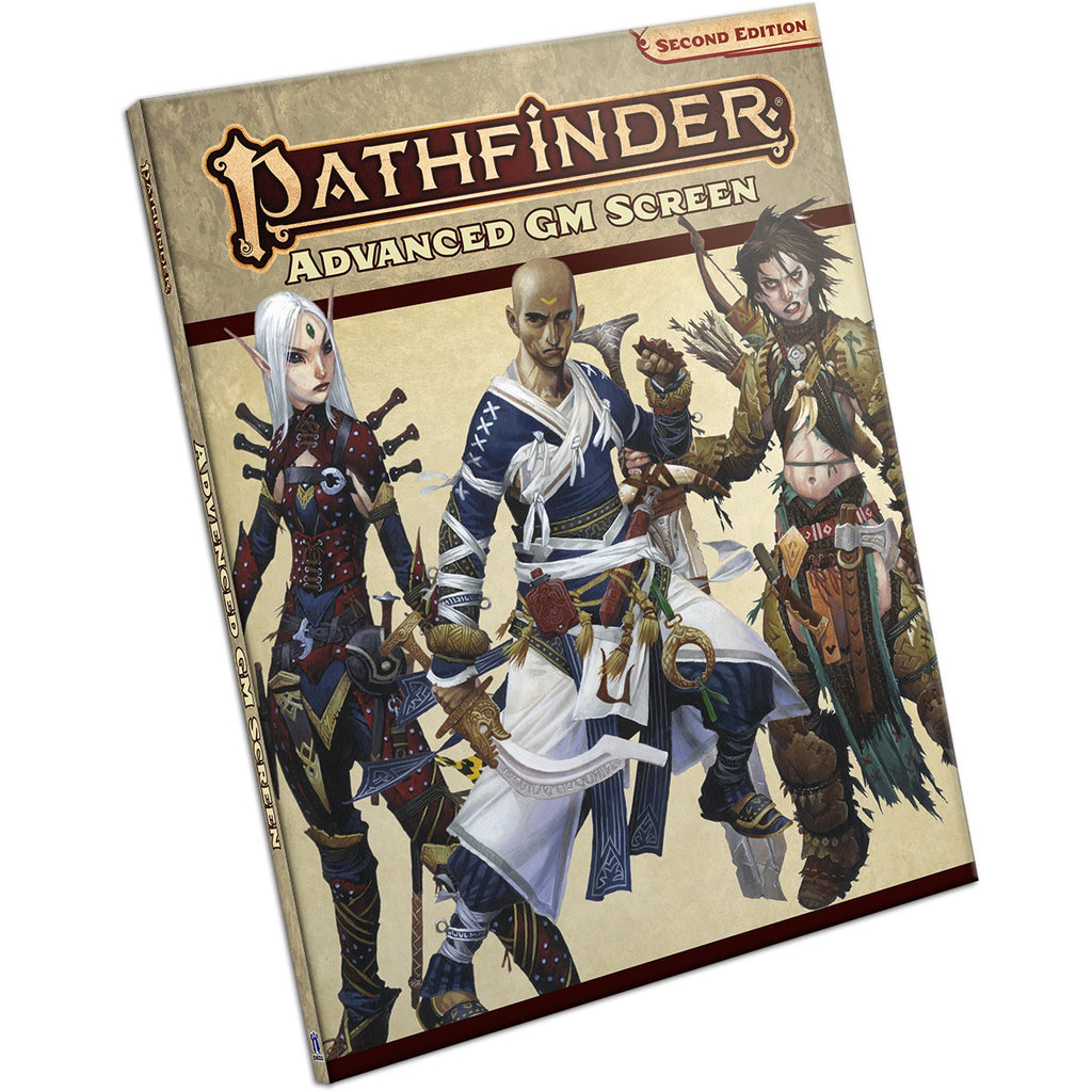 Pathfinder Second Edition Advanced GM Screen