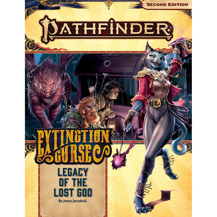 Pathfinder Second Edition Adventure Path #152 Legacy of the Lost God Extinction Curse 2 of 6