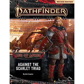 Pathfinder Second Edition Adventure Path Against the Scarlet Triad Age of Ashes 5 of 6