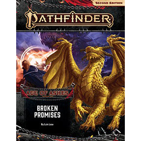 Pathfinder Second Edition Adventure Path Broken Promises Age of Ashes 6 of 6