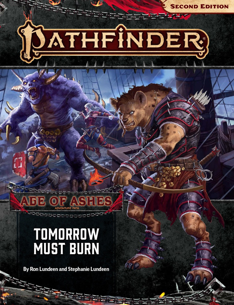 Pathfinder Second Edition Adventure Path Tomorrow Must Burn Age of Ashes 3 of 6