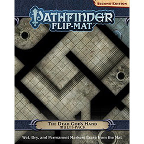 Pathfinder Second Edition Flip-Mat: The Dead God's Hand Multi-Pack