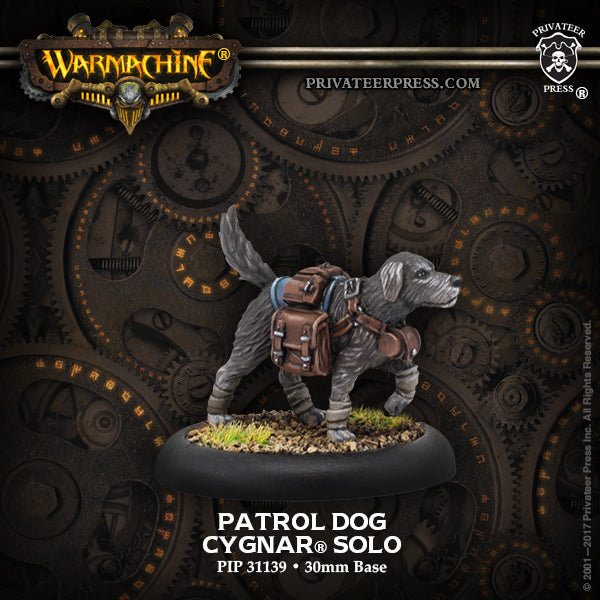 Warmachine Cygnar Patrol Dog