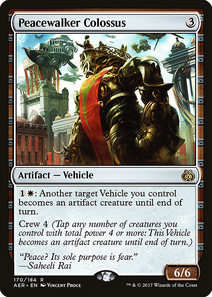 Aether Revolt Peacewalker Colossus