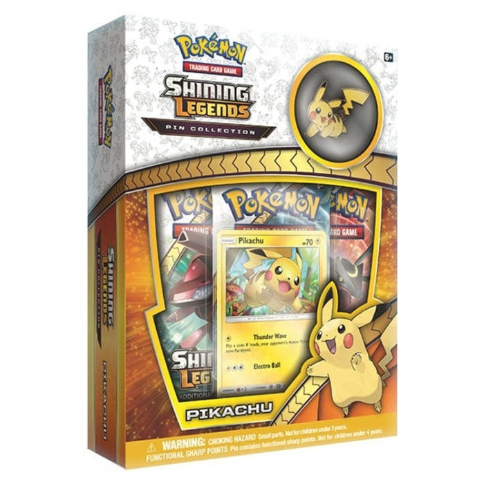 Pokémon Shining Legends Pikachu Pin Box