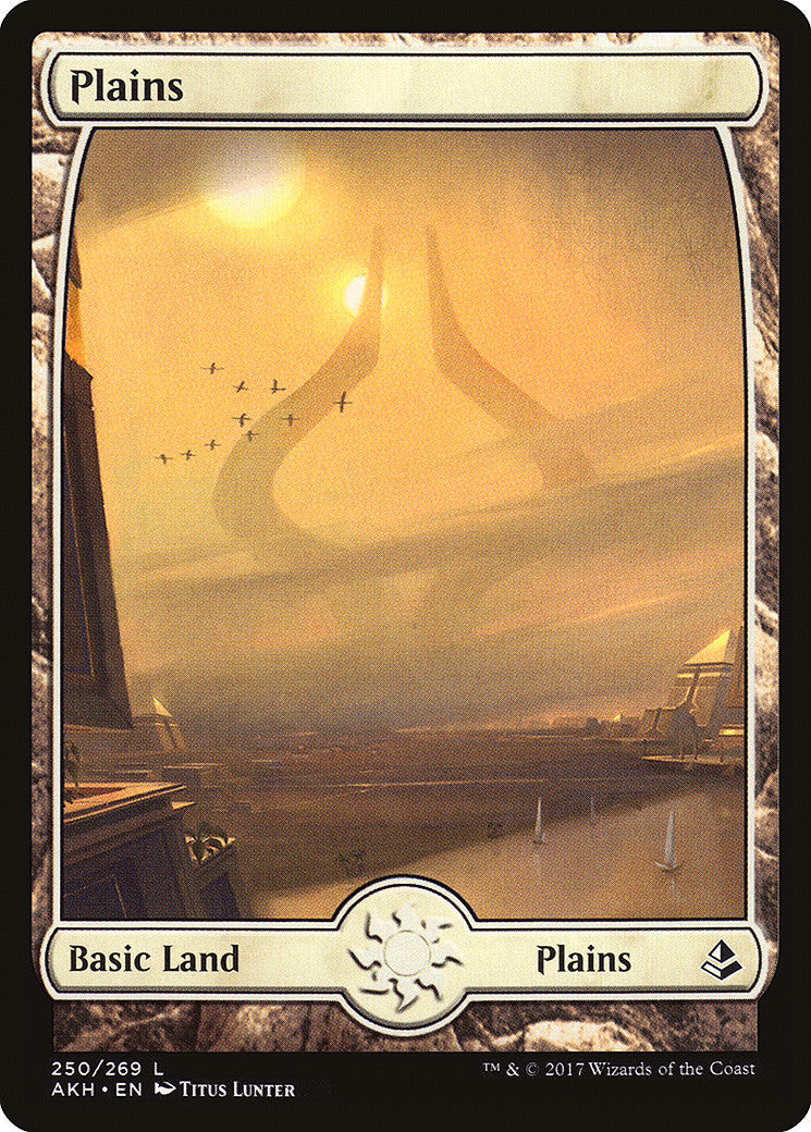 Amonkhet Plains Full Art (250)