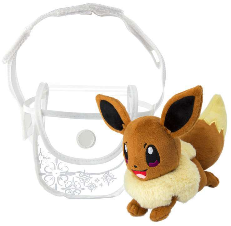 Pokemon Eevee Shoulder Bag Plush