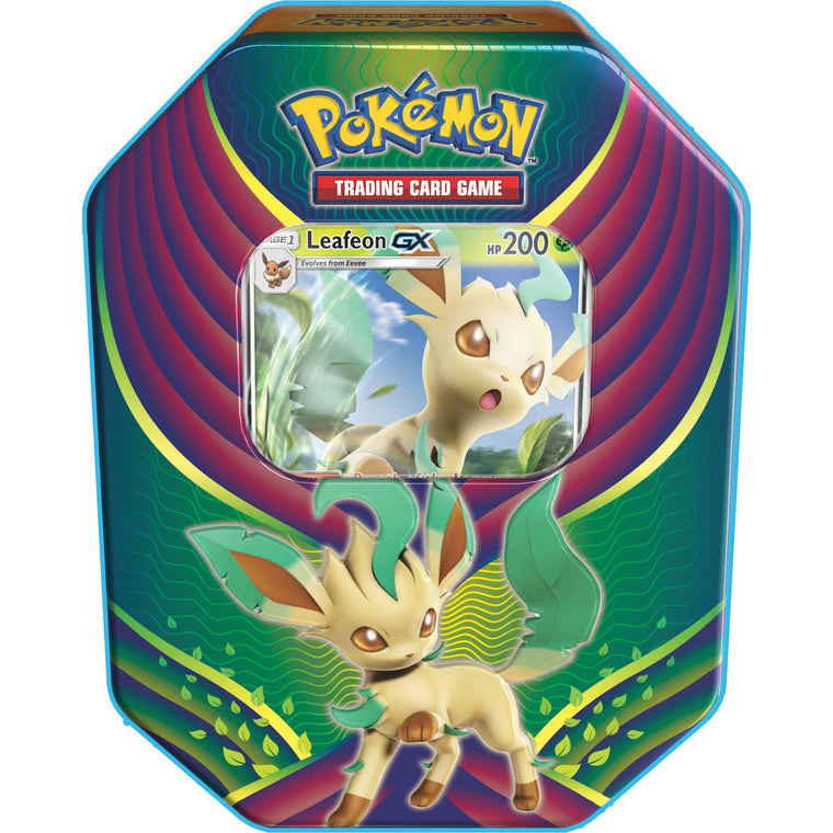 Pokémon Evolution Celebration Leafon-GX Tin