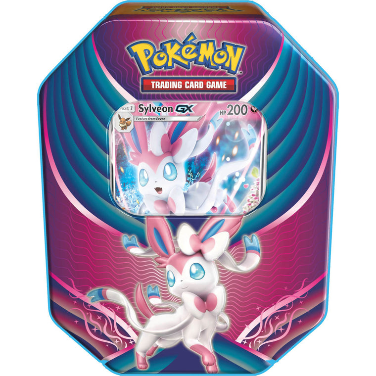 Pokémon Evolution Celebration Sylveon-GX Tin