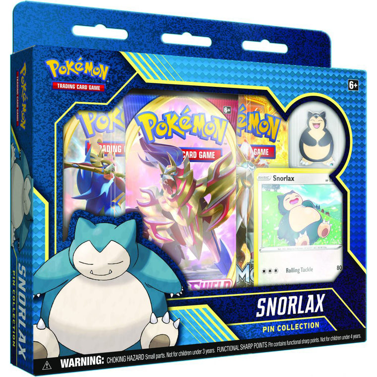 Pokémon Pin Box Snorlax