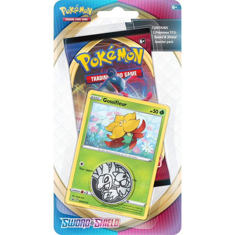 Pokémon Sword & Shield Gossifleur Check Lane Blister Pack