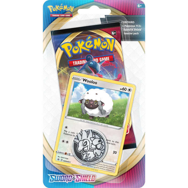 Pokémon Sword & Shield Wooloo Check Lane Blister Pack