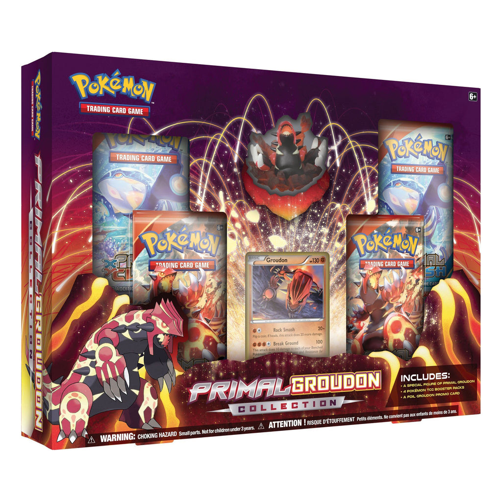 Pokémon Primal Groudon Collection