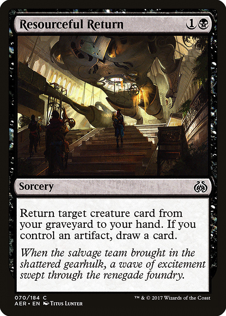 Aether Revolt Resourceful Return