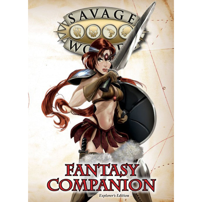 Savage Worlds Fantasy Companion Explorer's Edition
