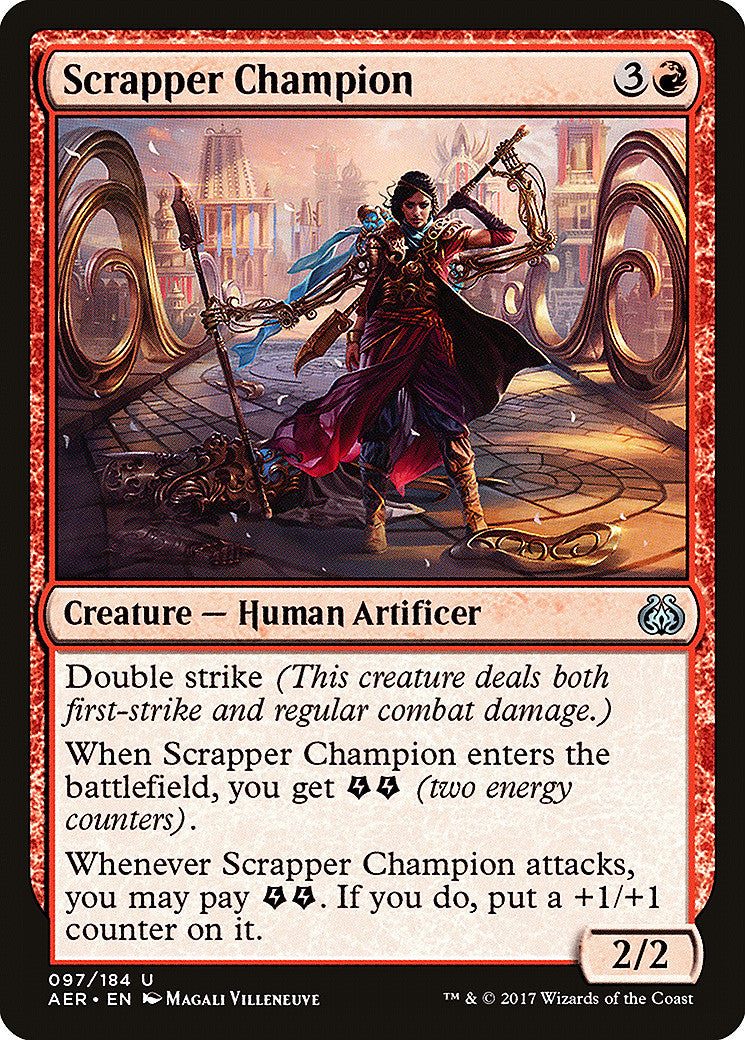 Aether Revolt Scrapper Champion