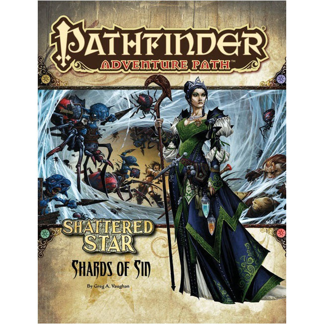 Pathfinder Adventure Path Shatered Star Shards of Sin 1 of 6