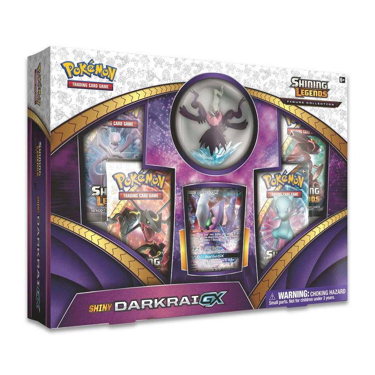 Pokémon Shining Legends Shiny Darkrai GX Box