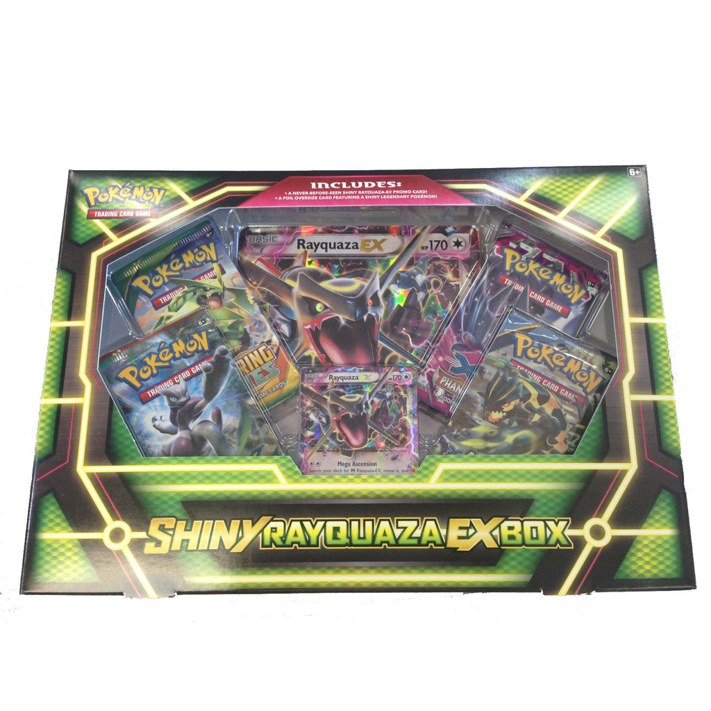Pokémon Shiny Rayquaza EX Box