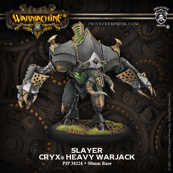 Warmachine Cryx Slayer / Erebus