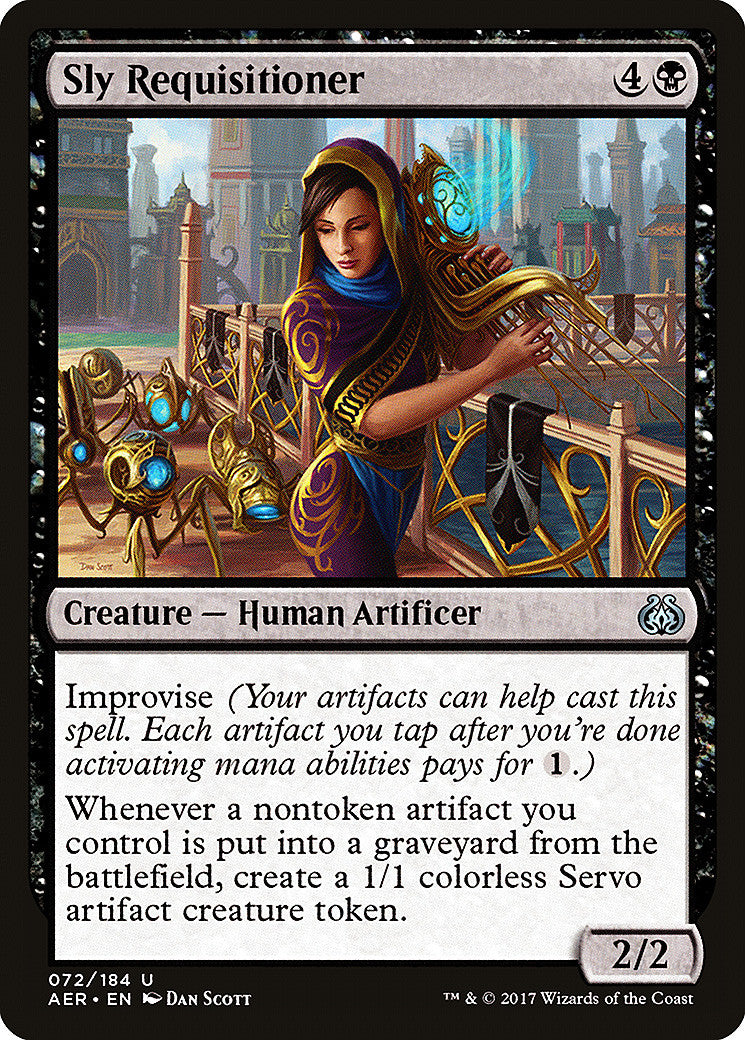 Aether Revolt Sly Requisitioner