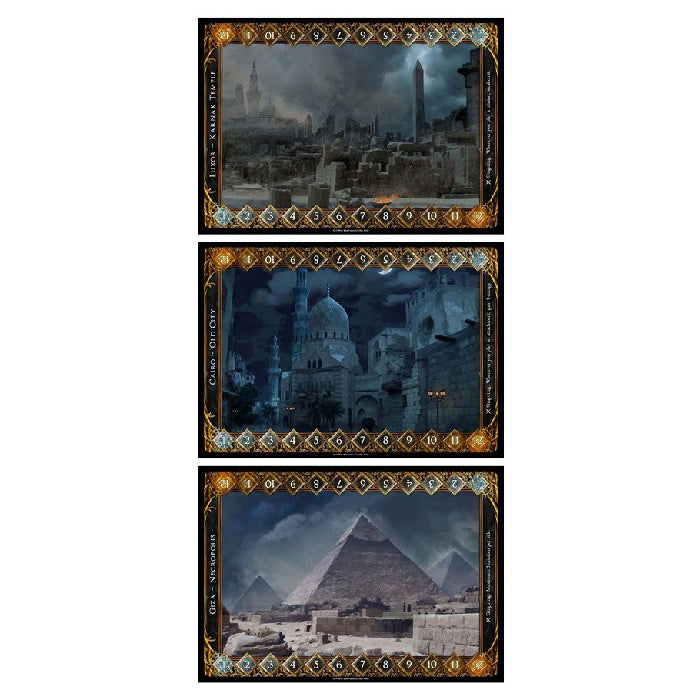 Sorcerer Egyptian Battlefield Set