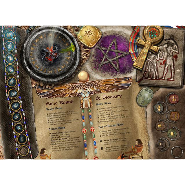 Sorcerer Extra Player Board Standard Art