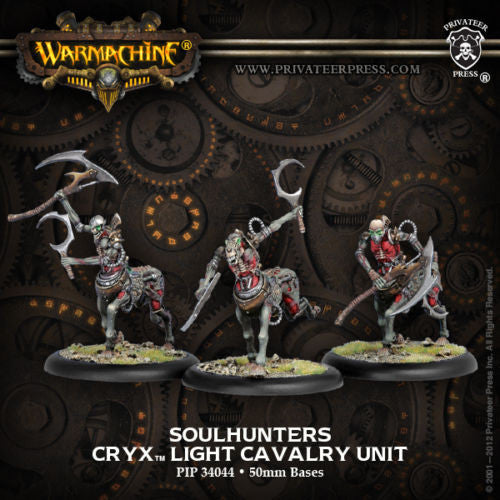 Warmachine Cryx Soulhunters