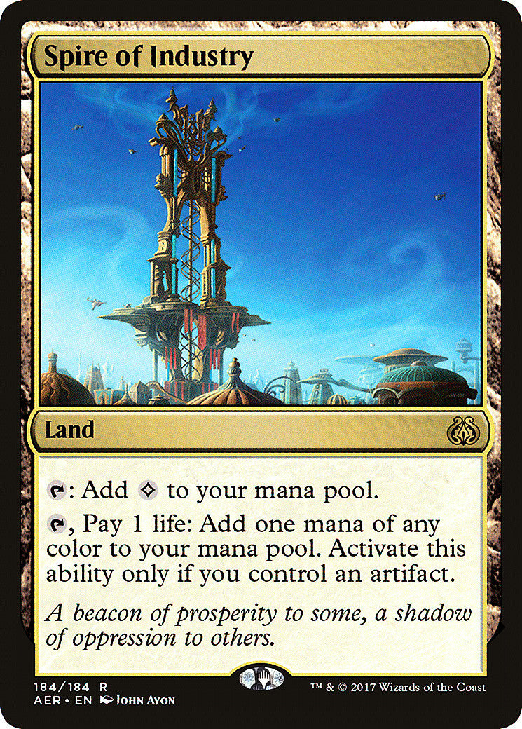 Aether Revolt Spire of Industry