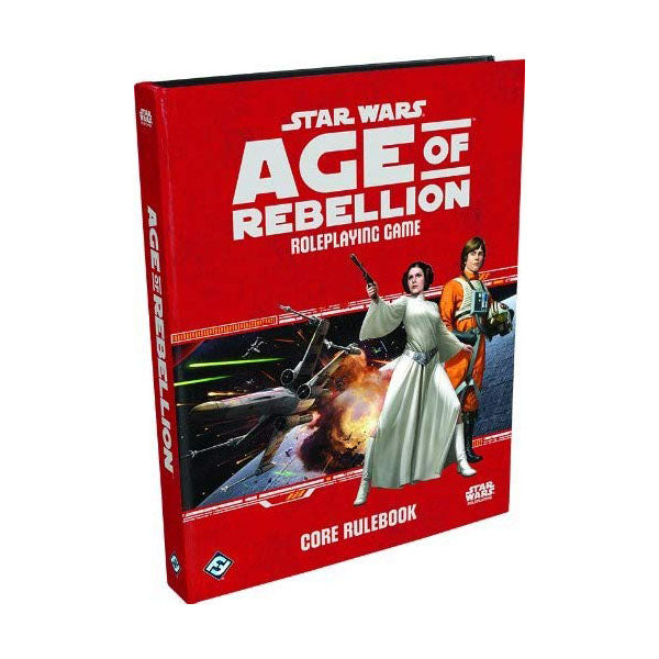 Star Wars Age of Rebellion Core Rulebook