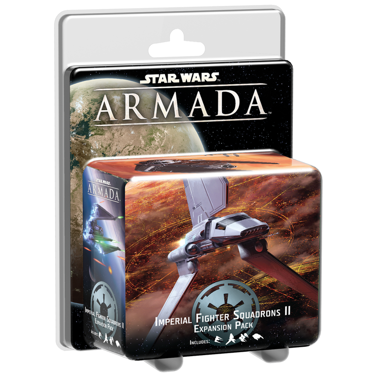 Star Wars Armada Imperial Fighter Squadrons 2 Expansion Pack