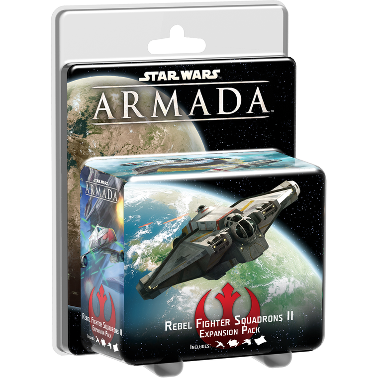 Star Wars Armada Rebel Fighter Squadrons 2 Expansion Pack