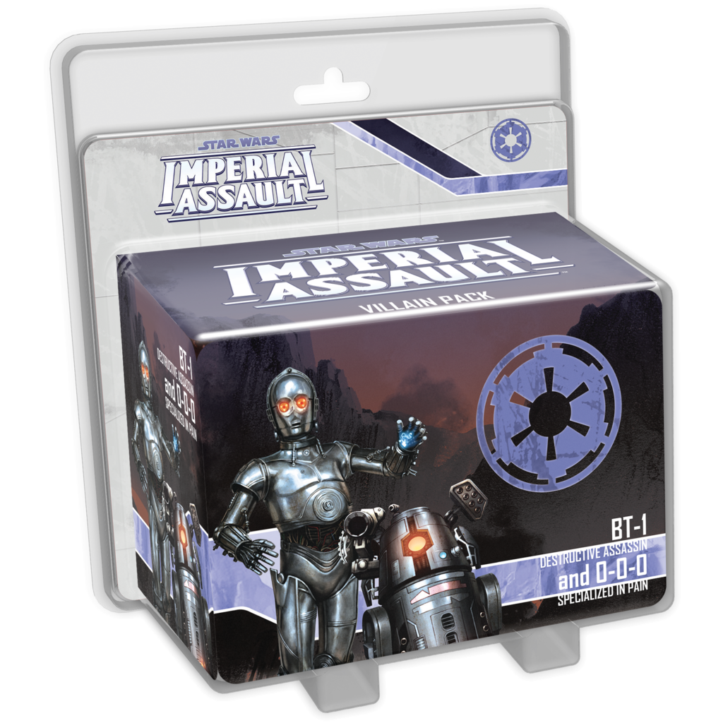 Star Wars Imperial Assault BT-1 and 0-0-0 Villain Pack