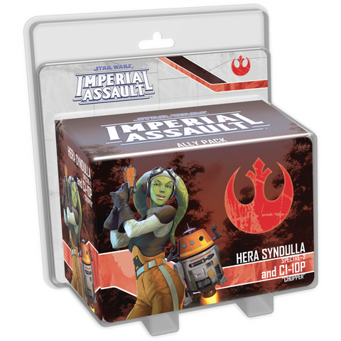 PRE-ORDER Star Wars Imperial Assault Hera Syndull and C1-10P Ally Pack