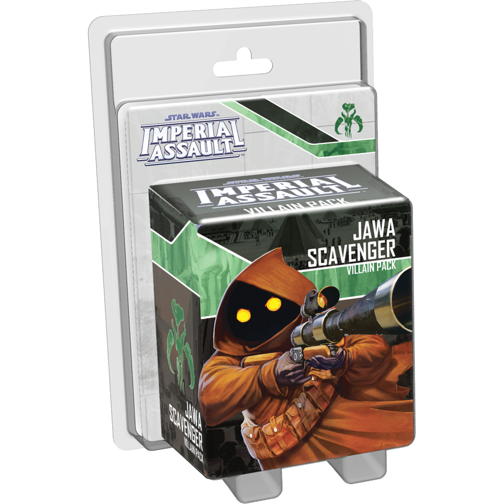 Star Wars Imperial Assault Jawa Scavenger Villain Pack