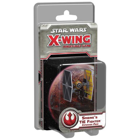 Star Wars X-Wing Sabine's TIE Fighter