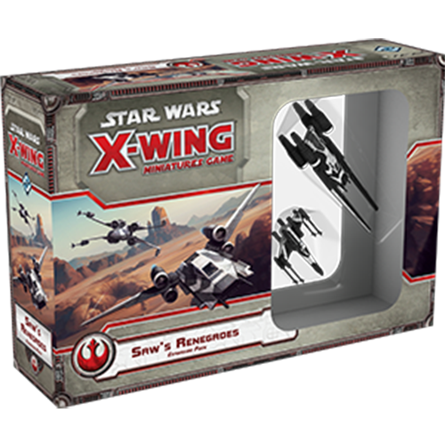 PRE-ORDER Star Wars X-Wing Saw's Renegades Expansion Pack