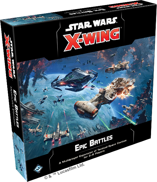 Star Wars X-Wing Second Edition Epic Battles Multiplayer Expansion