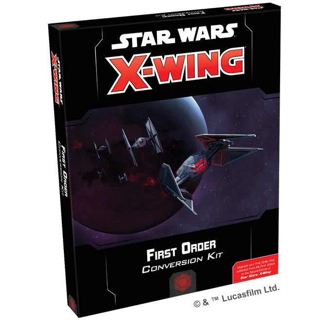 Star Wars X-Wing Second Edition First Order Conversion Kit