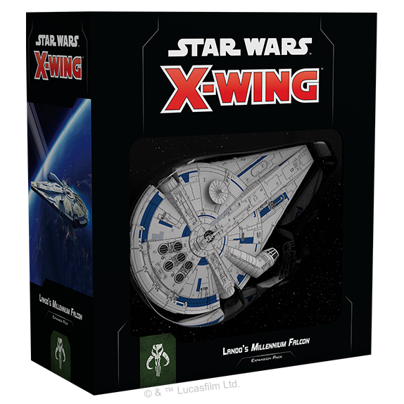 Star Wars X-Wing Second Edition Lando's Millennium Falcon Expansion Pack