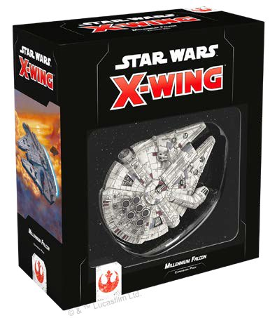 Star Wars X-Wing Second Edition Millennium Falcon Expansion Pack