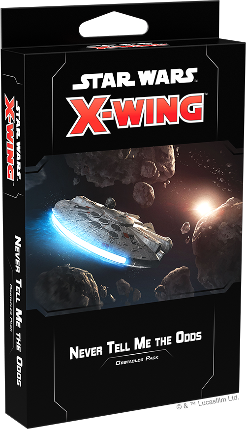 Star Wars X-Wing Second Never Tell Me the Odds Obstacles Pack