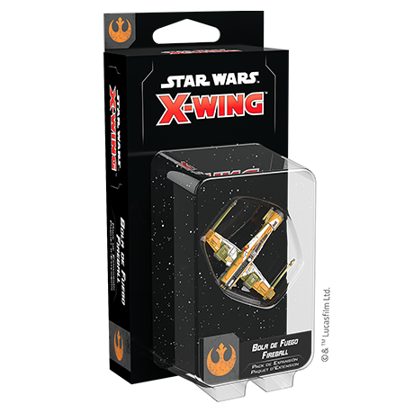 Star Wars: X-Wing (Seconde Édition) – Fireball Extension FR