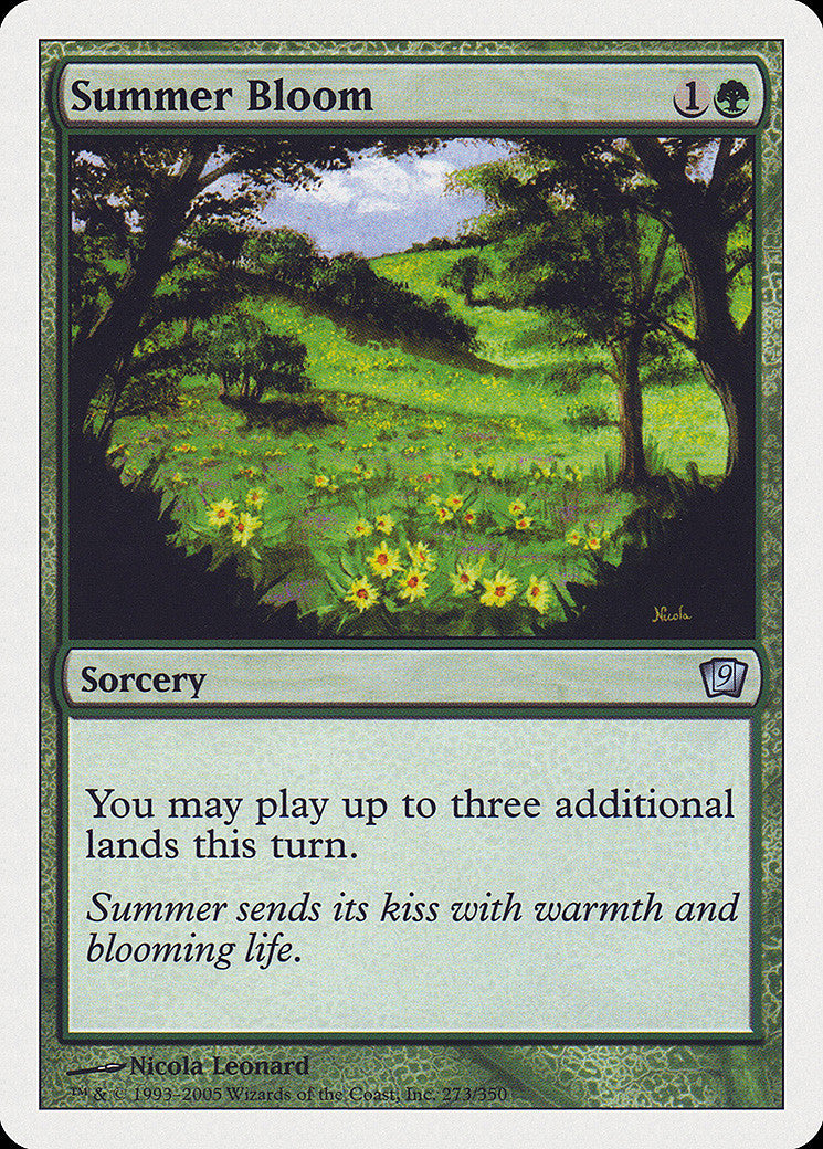 9th Edition Summer Bloom