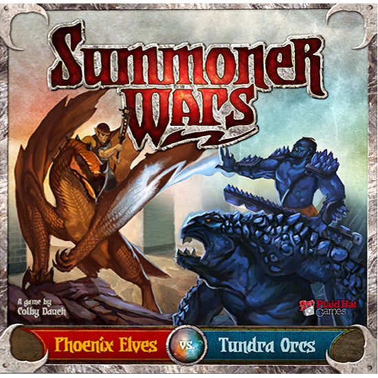 Summoner Wars Phoenix Elves Vs Tundra Orcs