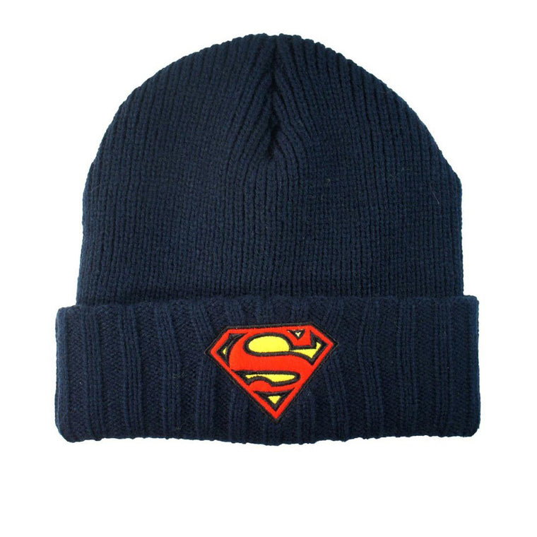 DC Comics - Superman Logo - Cuffed Beanie