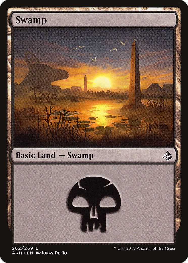 Amonkhet Swamp (262)