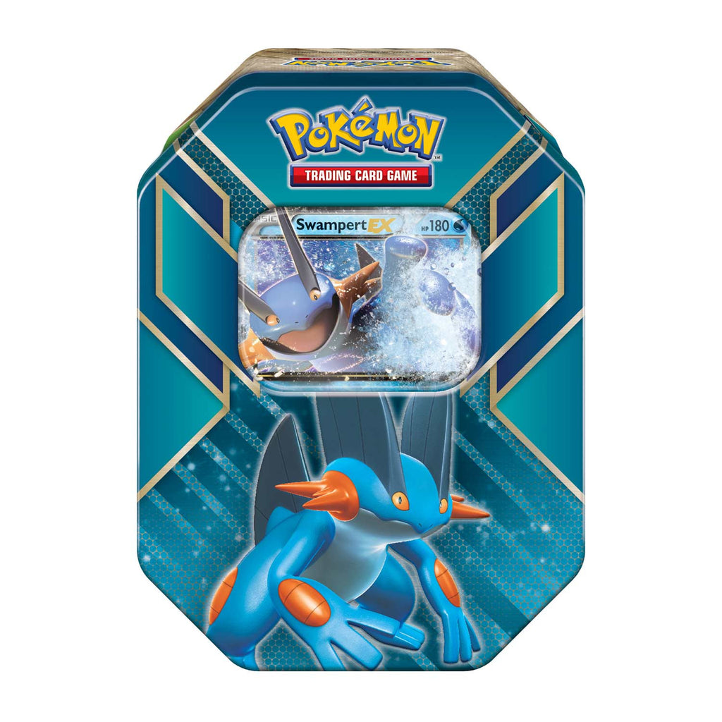 Pokémon Hoenn Power Swampert EX Tin Summer 2015