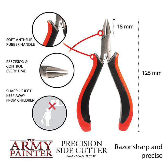 Miniature & Model Tools PRECISION SIDE CUTTERS